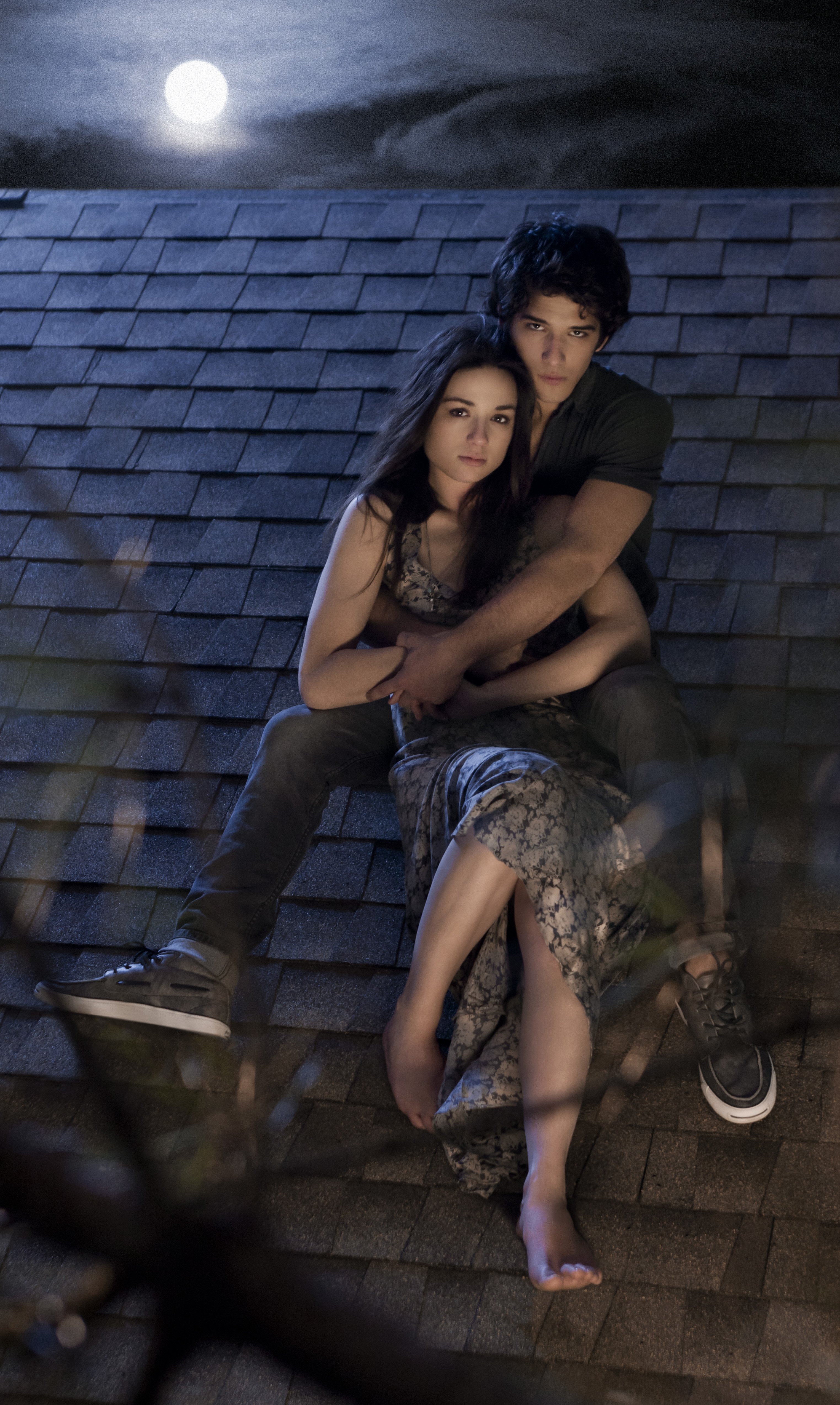 Teen Wolf - Crystal Reed und Tyler Posey