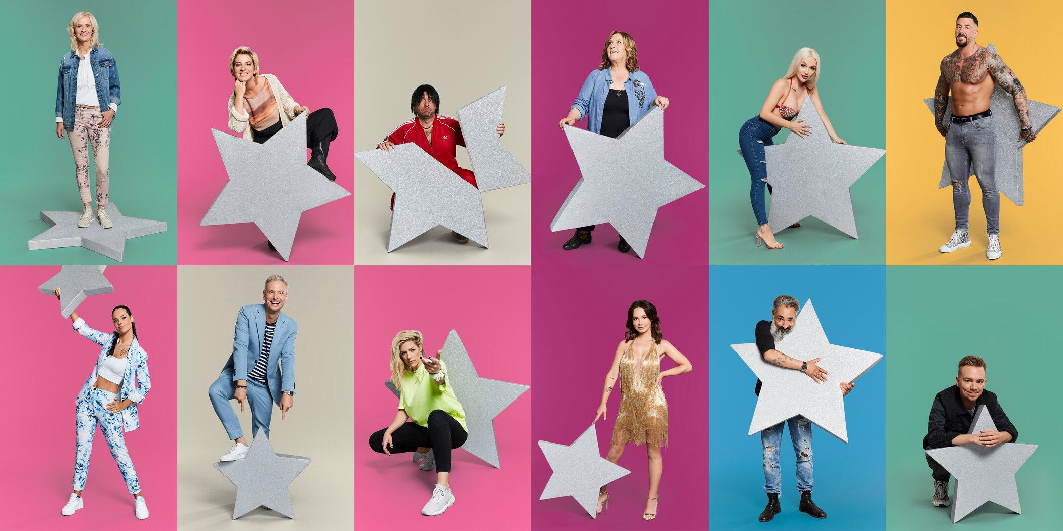 """Das sind die Kandidaten der achten Staffel von """"Promi Big Brother"""" in SAT.1."""