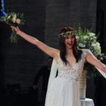 GNTM 2016 - Luana im Hochzeits-Outfit