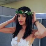 GNTM 2016 - Lana im Hochzeits-Outfit