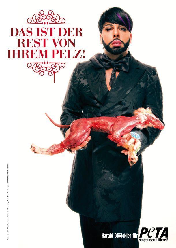PETAs Anti-Pelz.Kampagne