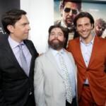 Hangover 3 Premiere London - Bradley Cooper, Zach Galifianakis, Ed Helms