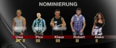 Nominierung