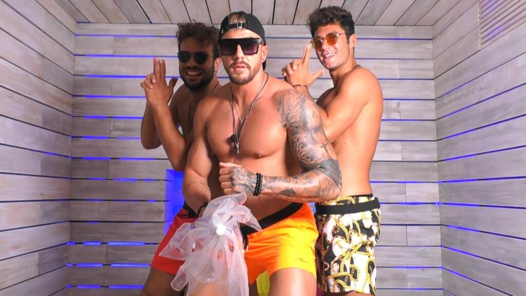 Yasin, Mischa und Danilo