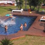 Spaß am und im Pool