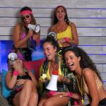 Islanderinnen feiern Triathlon