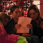 Melissa liest Brief vor