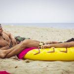 Erik und Danilo am Strand