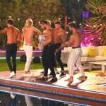 Die Jungs beim Dance Battle