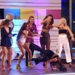 Die Mädels beim Dance Battle