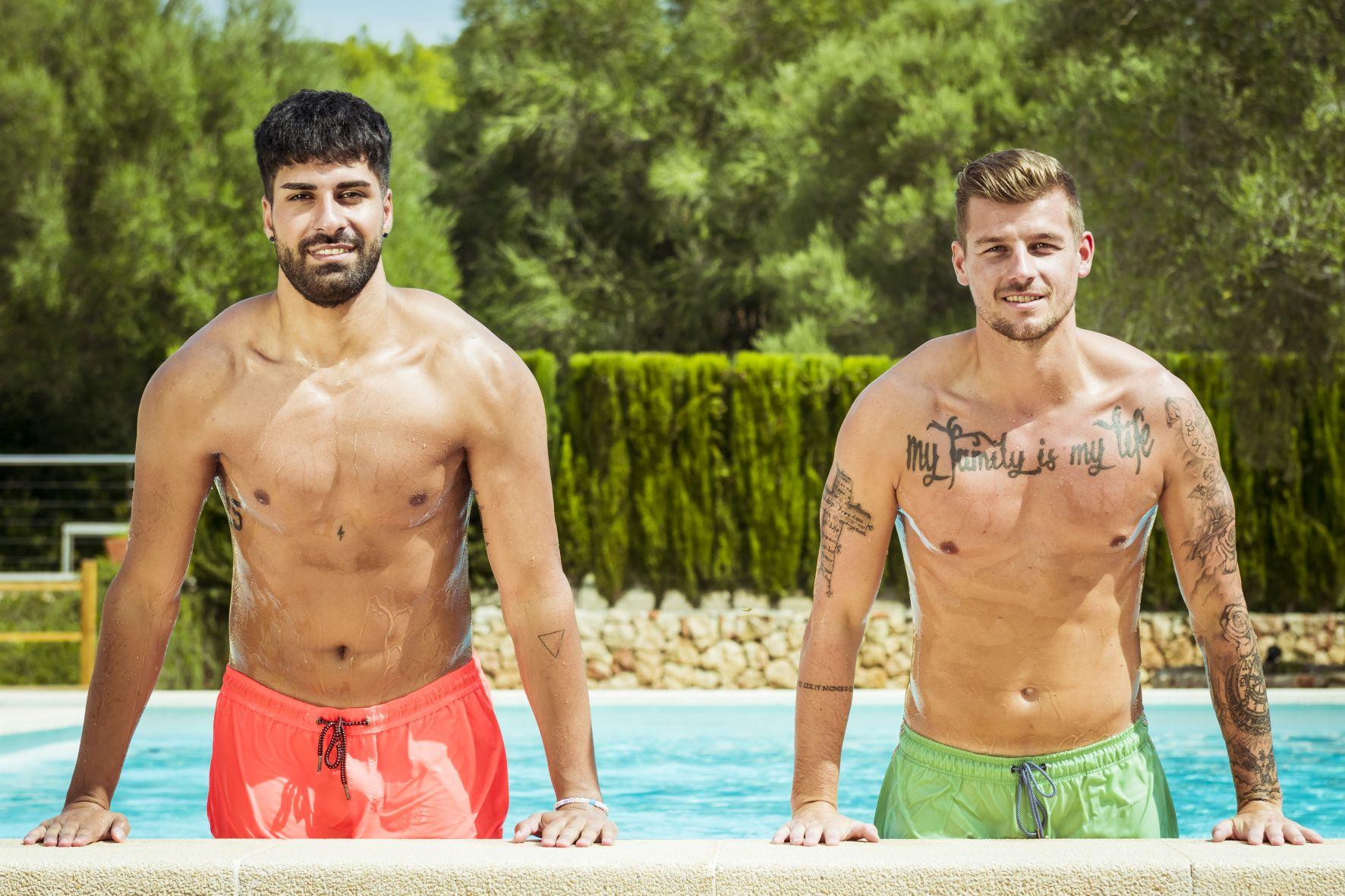 Das sind die beiden neuen Granaten Murat und Kevin.