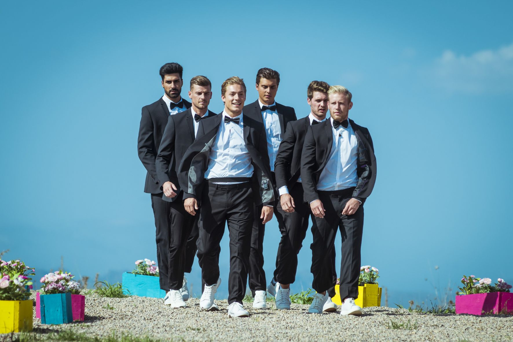 """Love Island 2020 Tag 22 - Die Boys bei der """"Undercover Lover""""-Challenge"""