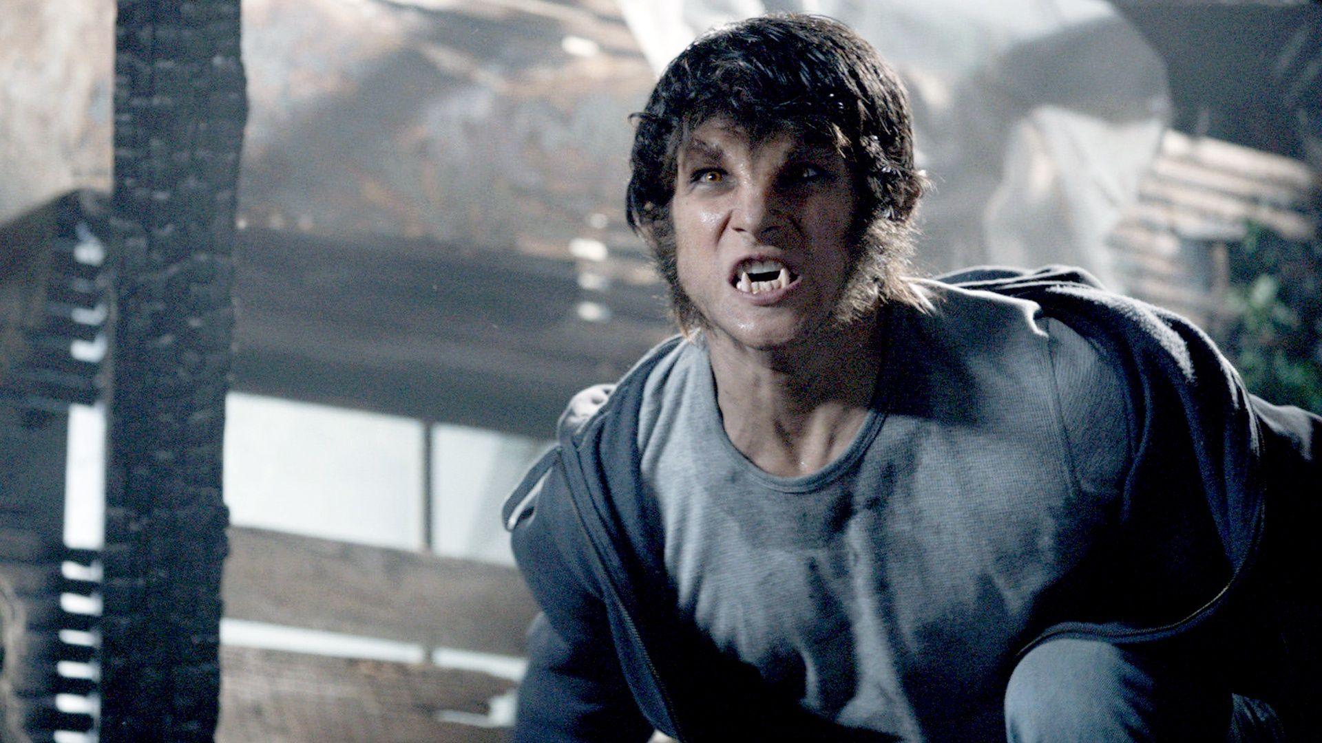 Teen Wolf - Tyler Posey als Werwolf