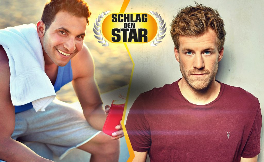 """Bei """"Schlag den Star"""" trifft Luke Mockridge (28) auf Attila Hildmann (35). In bis zu 15 Spielrunden kämpfen Mockridge und Hildmann bei """"Schlag den Star"""" um 100.000 Euro."""