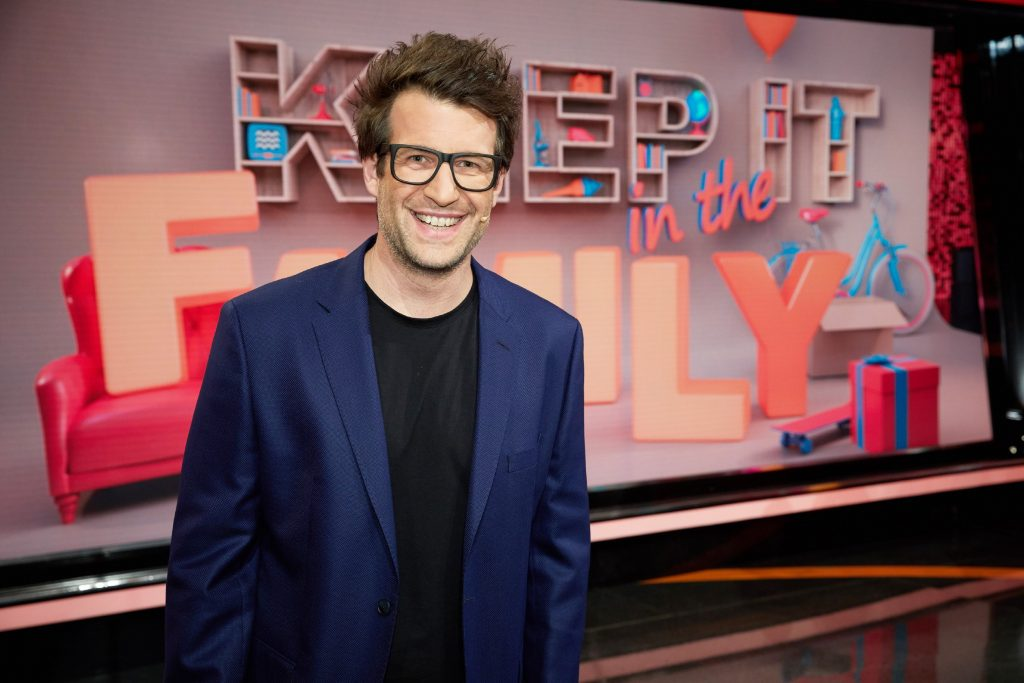 "Daniel Hartwich moderiert ""Keep It In The Family"" bei RTL."