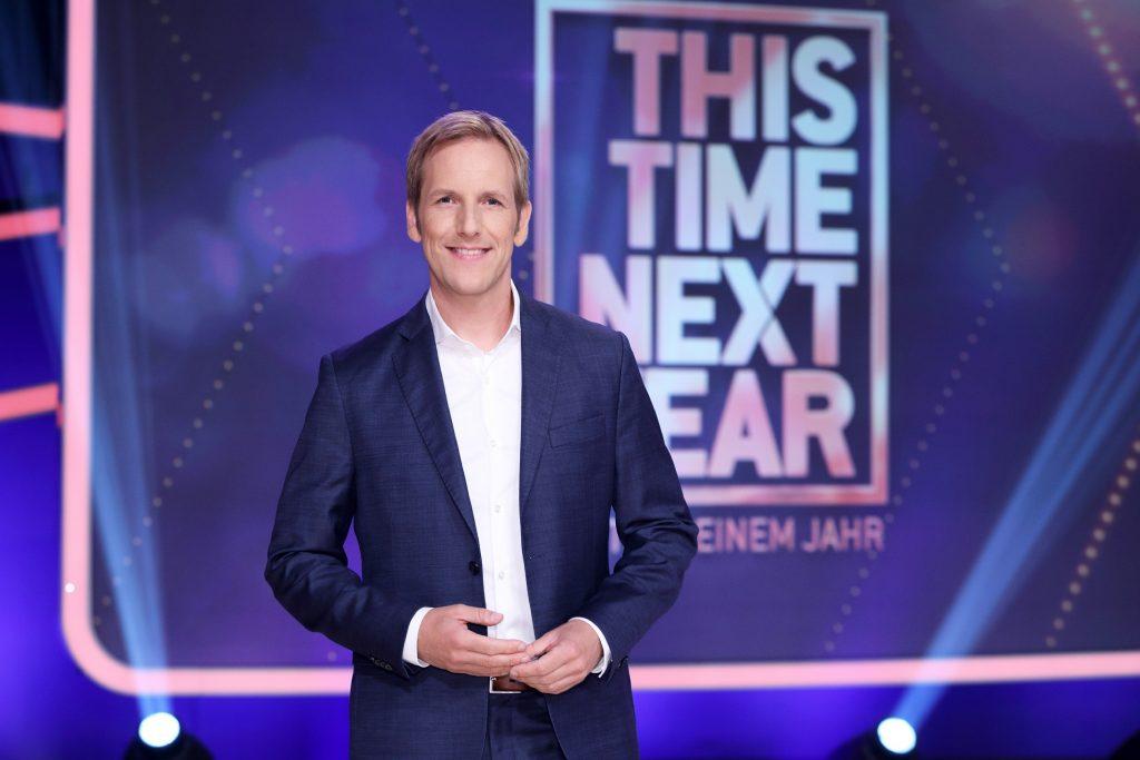 """Jan Hahn moderiert die neue Show """"This Time Next Year - Heute in einem Jahr"""" bei RTL."""