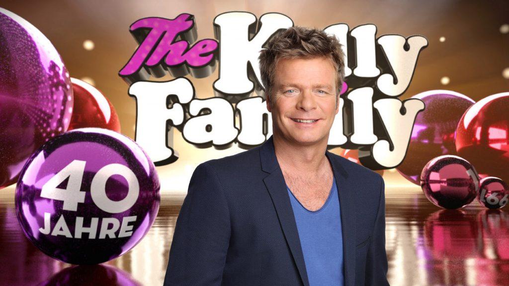"""Anlässlich des 40-jährigen Jubiläums der Kelly Family begibt sich Oliver Geissen in der neuen RTL-Primetime-Show """"40 Jahre The Kelly Family"""" zusammen mit der Band auf eine Zeitreise durch die vier Jahrzehnte der Bandgeschichte."""