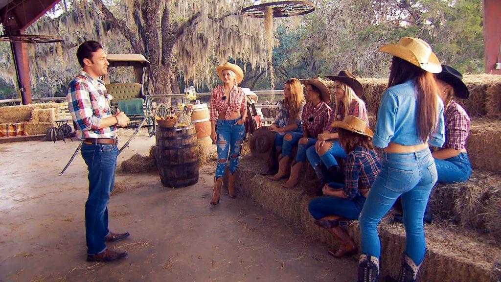 Daniel heißt die Ladys in Texas herzlich willkommen.