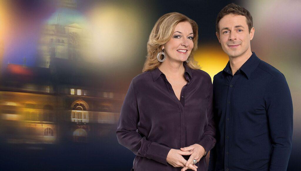 Bettina Tietjen und Alexander Bommes