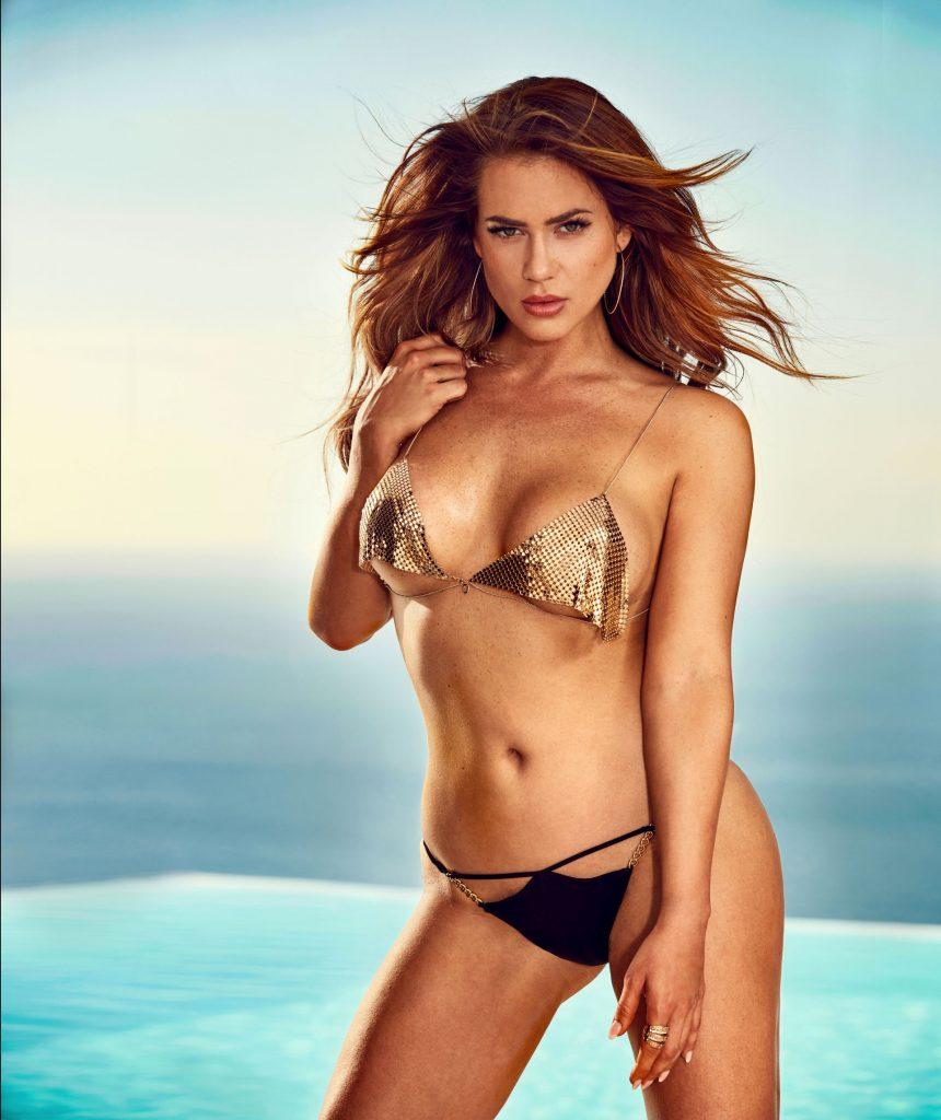 Jessica Paszka sucht nicht nur den Mann fürs Leben, sondern macht sich auch für den Playboy nackig.
